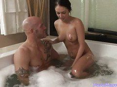 кунилингус в бане